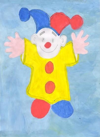 Клоун Портняжка. Елисеева Мария 8 класс Детский дом. Театр глазами детей