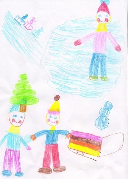 Кудрявцева К. 6 лет. Театр глазами детей (2)