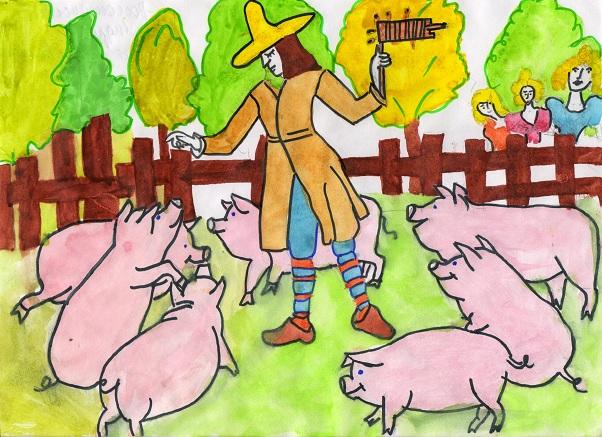 Музыкант. Россошанский Андрей 8 класс Детский дом. Театр глазами детей