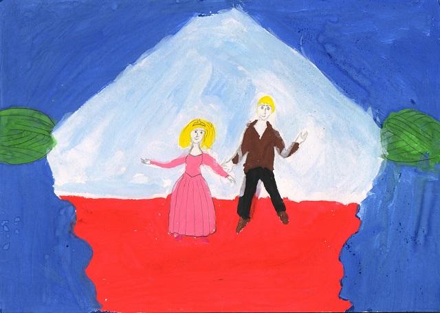 Представление началось. Ибрагимов Ратмир 2 класс Детский дом. Театр глазами детей