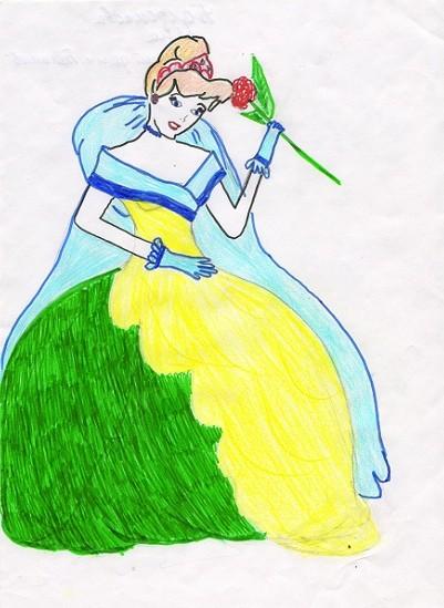 Принцесса. Болденкова Ляна 9 класс Детский дом. Театр глазами детей