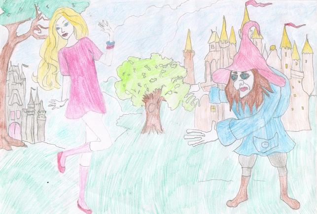 Прыгающая принцесса. Фролова Валерия 7 лет 1А МОУСОШ №9 Театр глазами детей