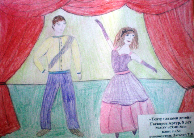 """Театр глазами детей """"СОШ№1"""""""