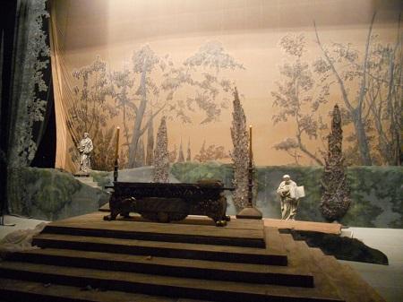 декорации в полную величину в мариинском театре