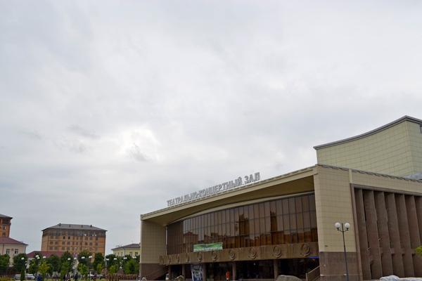 Концертный зал Чечни