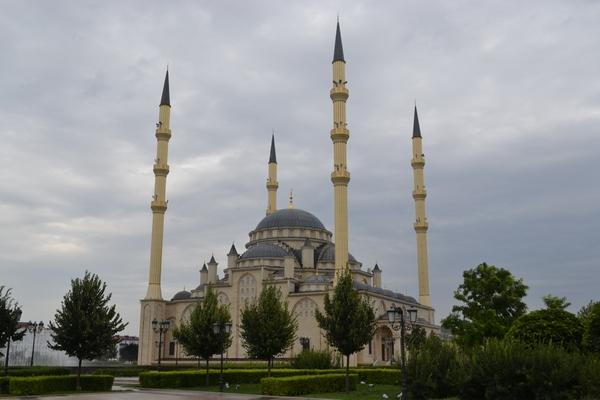 Сердце Чечни днем