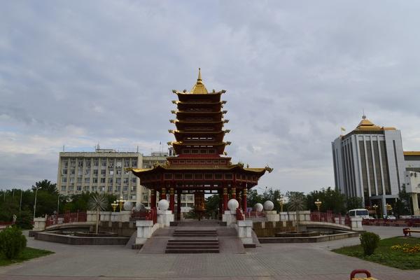 Пагода в центре Элисты
